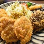ちかさんの手料理 - 特選豚ヒレカツ(4個)+肉厚ジューシーまるごとしいたけのフライ