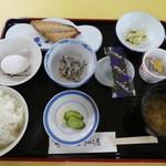 レストラン浜風 - 朝食のお膳