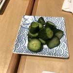 鐵板キッチン - 胡瓜の糠漬け