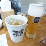 GYOZA8 - 生ビールとジンジャエール