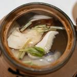 うを徳 - 2018.10 山口萩甘鯛と信州松茸の土瓶蒸し