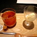 近江牛と地元野菜 ダイニングMOO - 紅茶とアイスクリーム