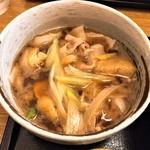 武蔵野うどん 一彩 - 肉汁