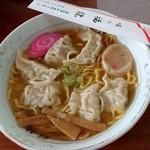 味の福龍 - 餃子入りラーメン 850円