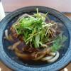 大津サービスエリア(下り線)スナックコーナー - 料理写真:近江牛ハリハリうどん