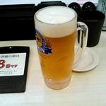 魚べい - ドリンク写真:生ビール