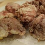 塊肉居酒屋 肉べぇ - タレ漬け鶏の唐揚げ 480円