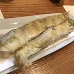 青宇宙 - 太刀魚の天ぷら