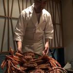 銀座 きた福 - 黄金蟹とたらば蟹