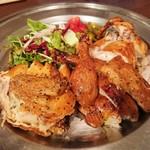 キッチンアンドチキン ペプチード - 華味鶏小雛のロティサリーチキン