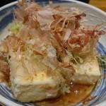 若大将まつしま - 揚げ出し豆腐