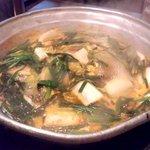 まいうKOREA - 煮えた鍋