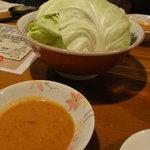 9545987 - キャベツ+辛味噌