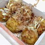 蛸焼工房 - 料理写真:たこ焼き (醤油味) 6個入り 427円 (税込)
