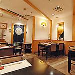 赤坂 三河家 - テーブル席