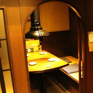 堀りごたつ半個室でゆったりと♪昭和のレトロ感溢れる懐かし空間