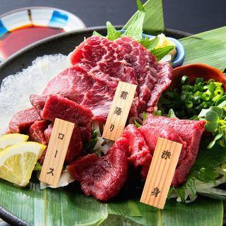 牛・豚・鶏肉を凌駕する豊富な栄養価の健康食材熊本名物『馬刺』