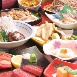 その日その時の美味を、色鮮やかなコース料理でいただく幸せ。