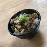 麺屋 じすり - チャーシュー丼(並)300円