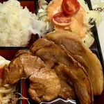 レストランばーく - Aセット(豚の生姜焼き)1,300円