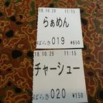 95457725 - 食券