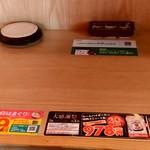 目利きの銀次 - 【2018.10.29(月)】カウンター席