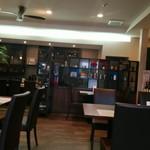 Restaurant la Raison - 店のカウンター部です。