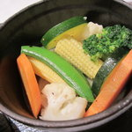 ラ・メール・プラール - ラ・メール・プラール伝統のオムレツ(季節の野菜)。