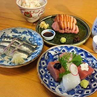 伊勢湾の新鮮魚に低温調理した肉料理まで!こだわりの逸品ご用意