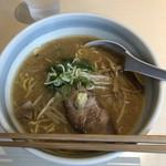イオリ - 味噌ラーメン 半麺