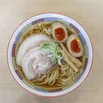 煮干鰮らーめん 圓 - 煮干しらーめん + 味玉☆
