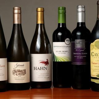 名ソムリエ・渋谷康弘氏がセレクトした充実のワインコレクション