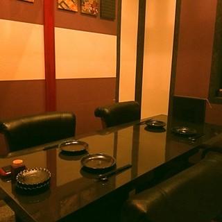 """落ち着きのプライベート空間ー…和の設えに寛ぐ""""完全個室"""""""