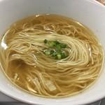 千茶屋 - スープに麺とネギだけ~