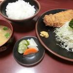 95468307 - ロースかつ定食(1,500円)
