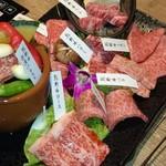 きた川 牛侍 - 熊野牛食べ比べセット
