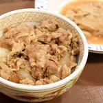 すき家 - 牛丼並盛