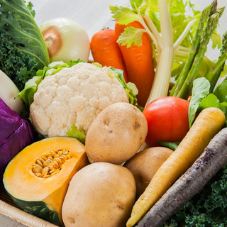 道産野菜をふんだんに使った料理を思う存分召し上がれ!