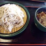 ゆで太郎 - 肉汁そば①