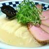 超多加水自家製手揉み麺 きたかた食堂 - 料理写真:鴨白湯肉そば 1100円