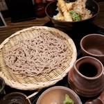 95473640 - 天丼セット、蕎麦大盛