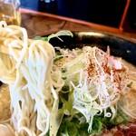 麺屋 七福神 - ストレートの細麺