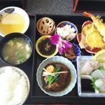 白水 - 彩(いろどり)弁当  1500円