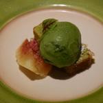 バンケッティ - デザート 抹茶のジェラート