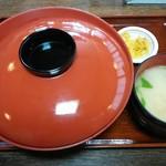 越前蕎麦 見吉屋 - 『玉子上かつ丼セット』