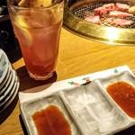 カルビ屋大福 - 巨峰酒ソ-ダ421円☆10/18