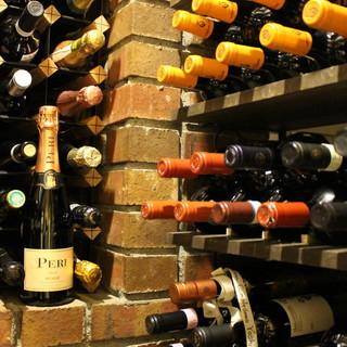 ◆ソムリエセレクト◇料理に合わせたイタリアワインを堪能