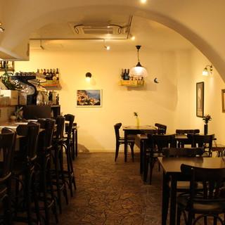 ◇全40席◇店内は南イタリアを思わせる異国空間をイメージ*
