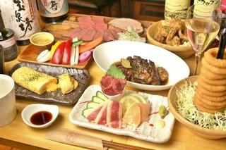 酒場食堂 もんぱち 坂ノ上 - 飲み放題付きコースは¥3500から。