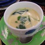 回転寿司 おかべ屋 - ウニ入り茶碗蒸し